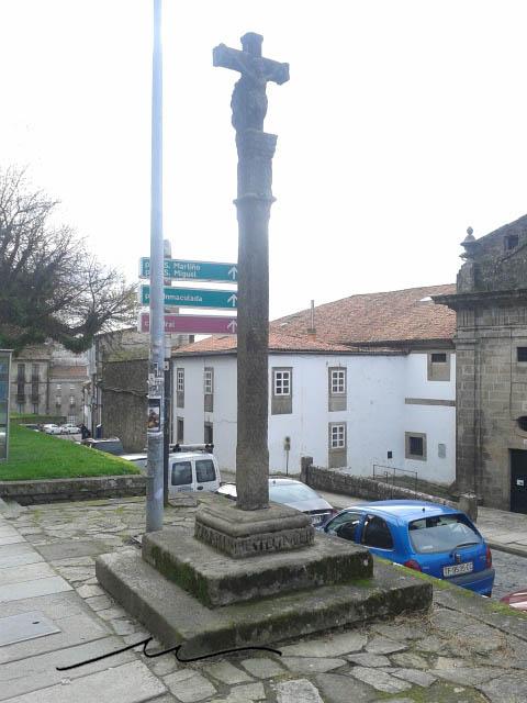 Cruceiros en Santiago de Compostela