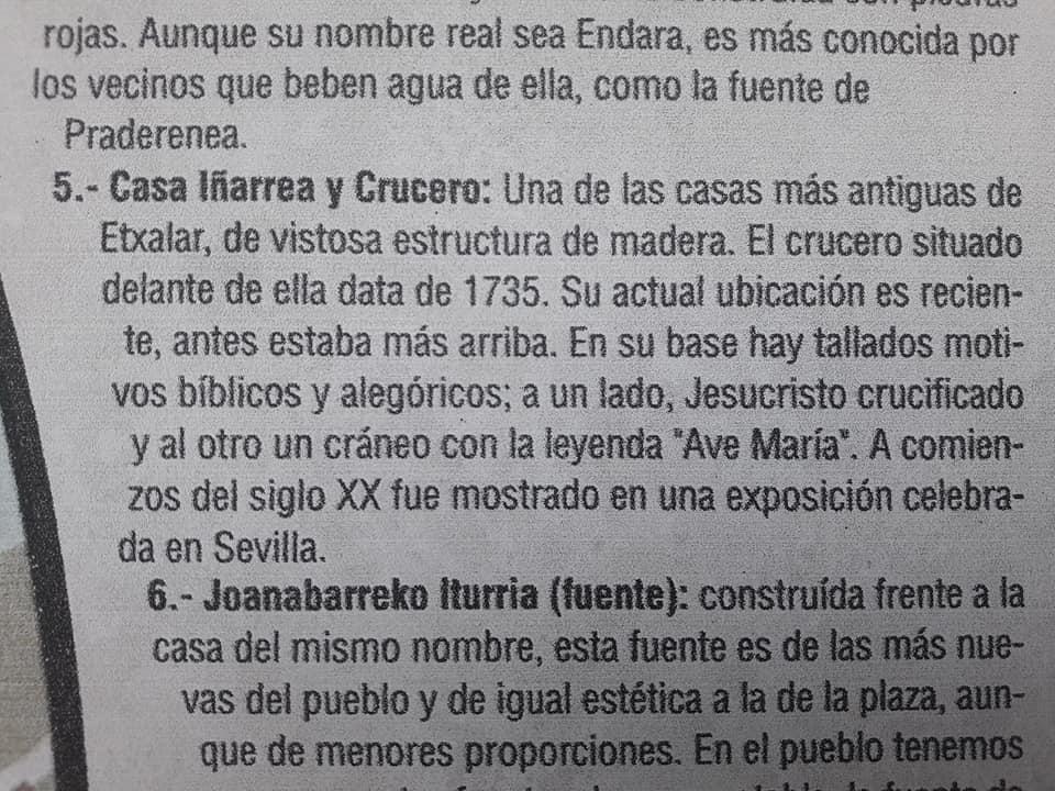 Cruceiros en Navarra