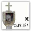 """Cruceiro del tipo """"Capeliña"""" o """"Loreto"""" (en lugar de capitel hay una capillita con imágenes)"""