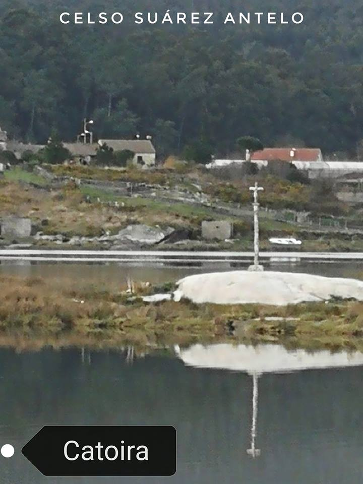 Cruceiros en Catoira