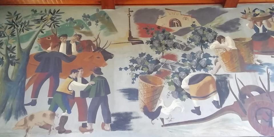 Los cruceiros en la pintura