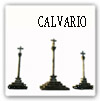 Calvario (conjunto de tres cruceiros -o cruces-. En el centro está Cristo, a ambos lados las cruces de los dos ladrones)