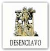 """Cruceiro del tipo """"desenclavo"""" (representa el descendimiento de Cristo de la cruz)"""